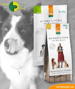 defu BIO dog snacks: chewing sticks and pralines