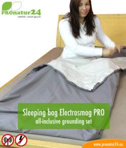 Sleeping bag Electrosmog PRO all-inclusive grounding set