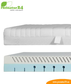 DEMO PHYSIOLOGA: Therapy mattress for back pains. Relief for discs / herniated discs.